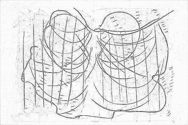18-08 drawing, 2012 sequence of 32 drawings