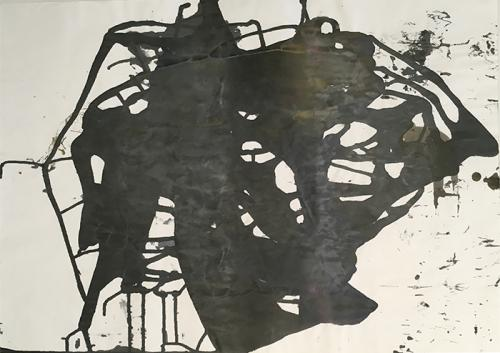 ink on paper 92x64cm