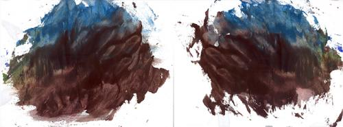 water based paint on paper18d