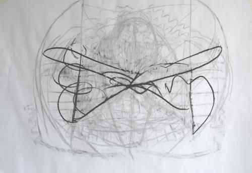 butterfly - 28.7.12 drawing
